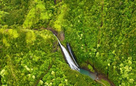 Manawaiopuna Falls (jurassic Park Falls) Image