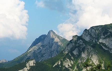 Giewont Mountain Image