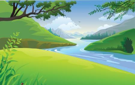 Daya River Image