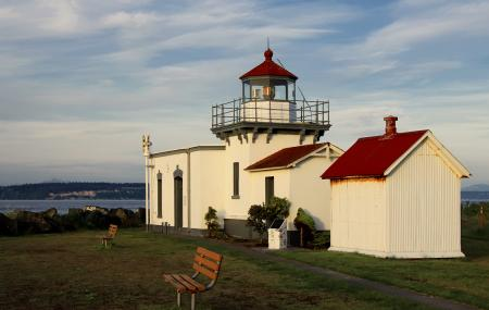 Point No Point Lighthouse Image