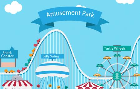 Parc Attraction (amusement Park) Image