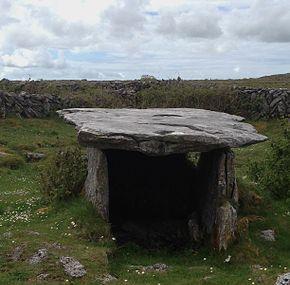 Gleninsheen Wedge Tomb Image