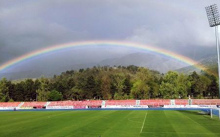 Aneksi I Stadiumit Skenderbeu Image