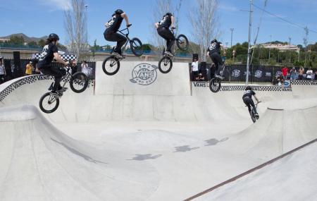Skatepark Malaga Ruben Alcantara Image
