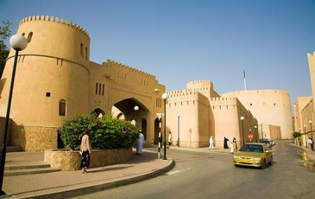 Nizwa Fort Gate Image