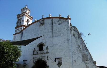 Parroquia La Purisima Concepcion De Alpuyeca, Morelos, Mexico. Image