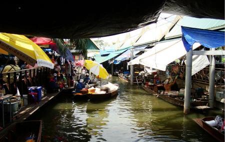 Taling Chan Floating Market Image