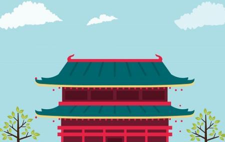 Jinhua Fu City God Temple Image