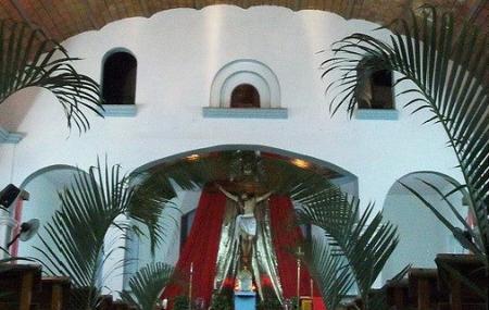 Iglesia De La Santa Cruz De Huanacaxtle Image