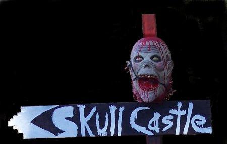 Skull Castle Haunted House Image