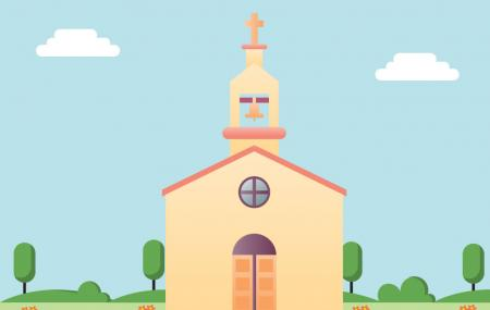 Iglesia Ntra. Sra. Del Rosario. La Cala Del Moral, Malaga Image