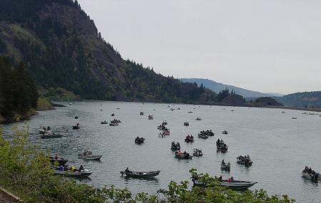 Drano Lake Boat Ramp Image