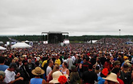 Magnetic Hill Concert Site Image