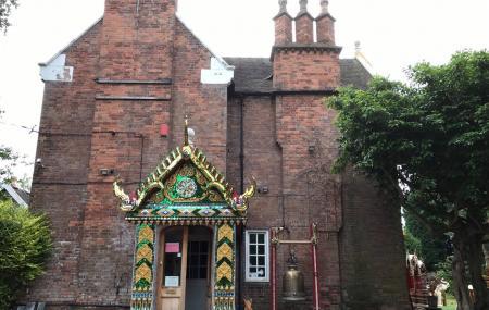 Wat Mahathat Temple Uk Image