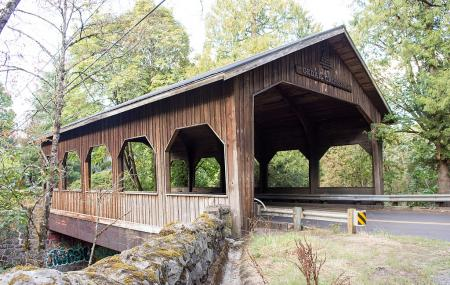 Cedar Crossing Bridge Image