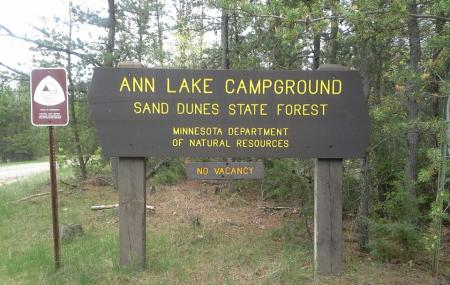 Sand Dunes State Forest, Big Lake