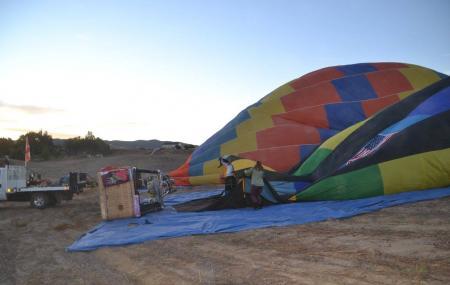 Sunrise Balloons Image