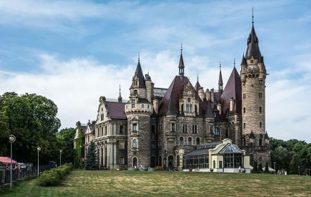 Moszna Castle Image