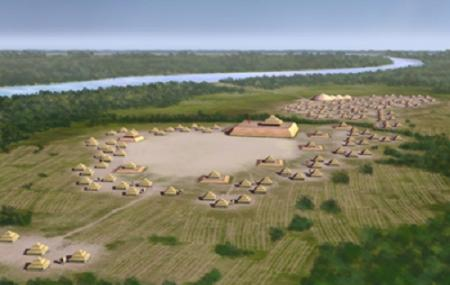 The Spiro Mounds Archaeological Center Image