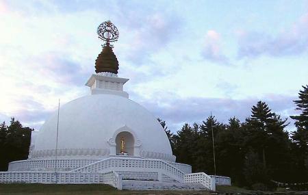 The New England Peace Pagoda Image