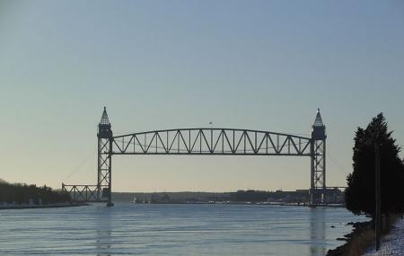 Cape Cod Canal Railroad Bridge Image