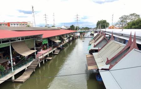 Floating Market Sainoi Image