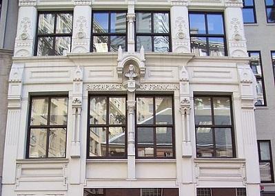 Ben Franklin House Image