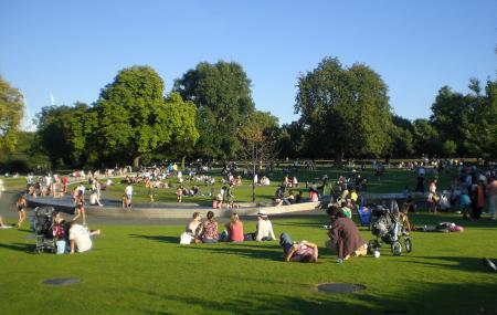 Princess Diana Memorial Fountain Image