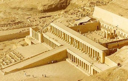 Mortuary Temple Of Hatshepsut Image