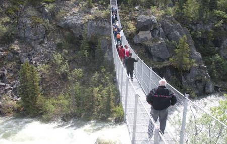 Yukon Suspension Bridge Image