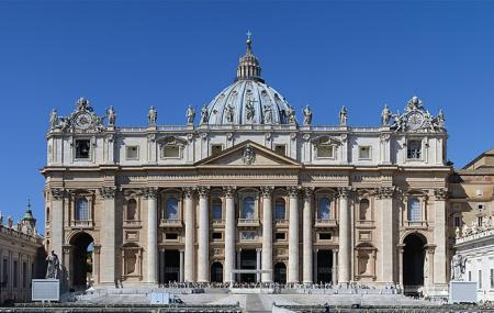 The Baldacchino And Dome, St. Peter's Basilica Image