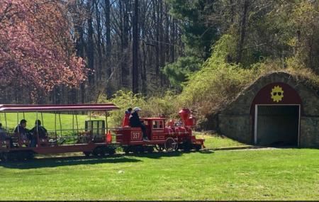 Miniature Train At Wheaton Regional Park Image