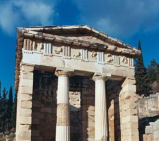 The Treasury Of Athens Image