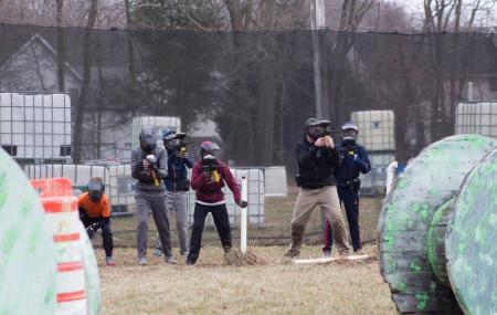 Mansion House Paintball Image