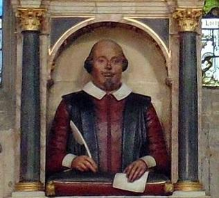 Shakespeare's Grave Image