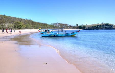 Pantai Pink Lombok Ntb Image