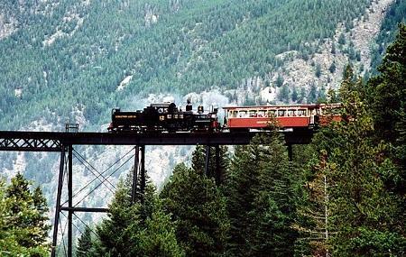Georgetown Loop Historic Railroad Image