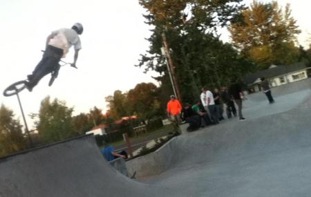 Estacada Skatepark Image