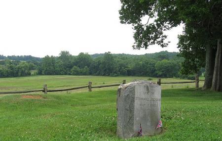 Grave Of Stonewall Jackson's Arm Image