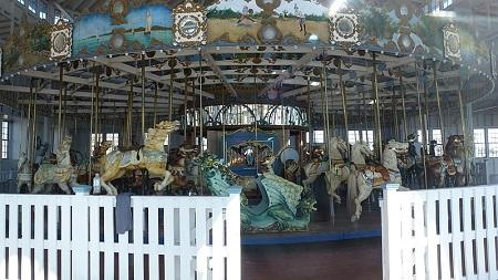 Carousel At Lighthouse Point Park Image