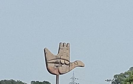 The Open Hand Monument Image