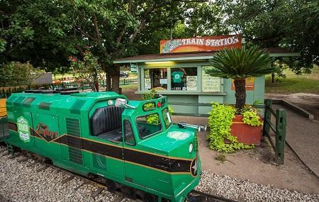 Zilker Zephyr Miniature Train Image