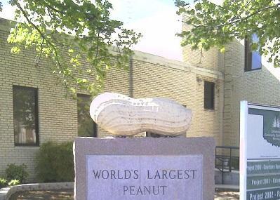 World's Largest Peanut Monument Image