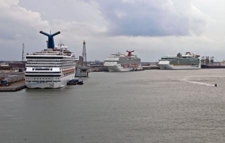 Ferry Terminal To Port Bolivar Image