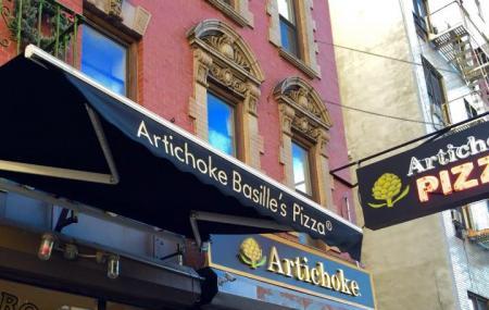 Artichoke Pizza Image