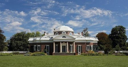 Thomas Jefferson's Monticello Image