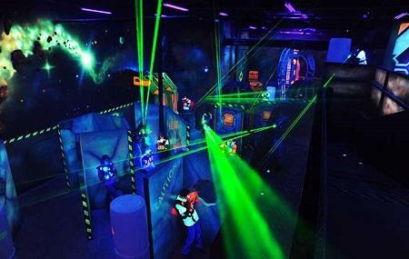 The Woods Laser Tag Image