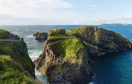 Carrick-a-rede Rope Bridge Image