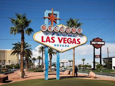 Welcome To Las Vegas Sign Image