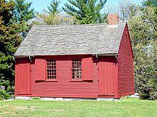Nathan Hale Schoolhouse Image